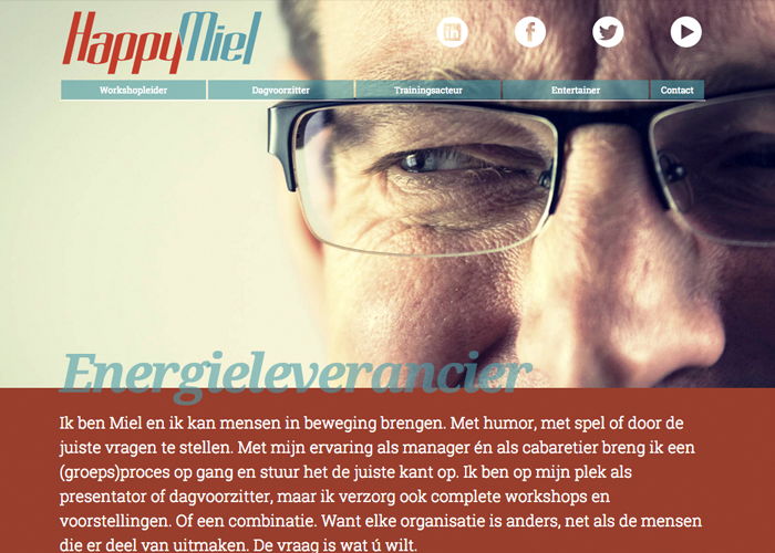 Website Happymiel.nl